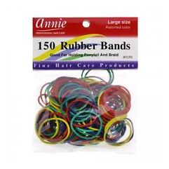 150 Rubber Bands, Assorted