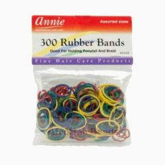 300 Rubber Bands, Assorted