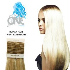 Bobbys One Human Hair Weft Extensions 40cm