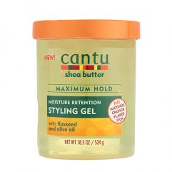 Moisture Retention Styling Gel w/ Flaxseed & Olive Oil, 524g