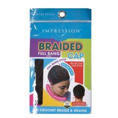 Braided Full bang Style Cap
