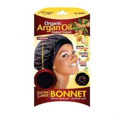 Argan Oil Bonnet Black Extra Large