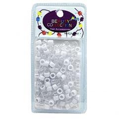 200 White Hair Beads