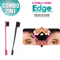 Double-Sided Edge Brush & Comb