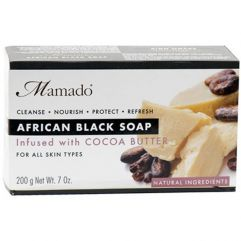 African Black Soap Cocoa Butter, 200 g