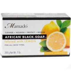 African Black Soap Lemon, 200 g