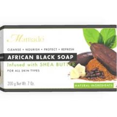 African Black Soap Shea Butter, 200 g
