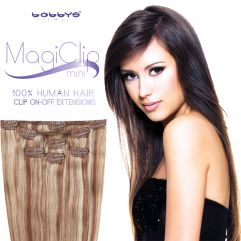 MagiClip MINI Human Hair Clip-On Off Extensions 50cm