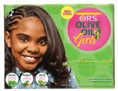 Girls No-Lye Conditioning Hair Relaxer System