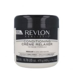 Realistic Conditioning Creme Relaxer Jar