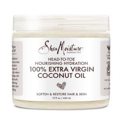 100% Extra Virgin Coconut Oil, 444 ml