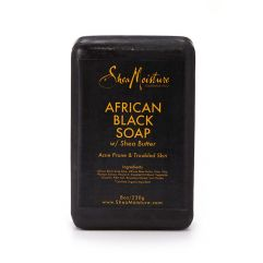 African Black Soap w/ Shea Butter, 230 g