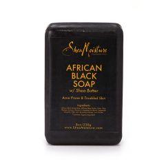 African Black Soap w/ Shea Butter, 230 g