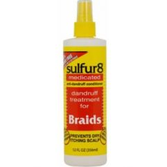 Medicated Braids Spray, 356 ml
