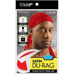 Satin Du-Rag, Red