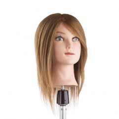 Training Head 30cm, Farge 6 - 100% human hair
