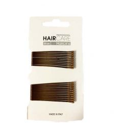 Bobby Pins Smooth Brass 5cm 20pk