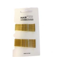 Bobby Pins Crimped 5cm 20pk, Blonde