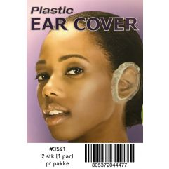 Plastic Ear Cap Clear